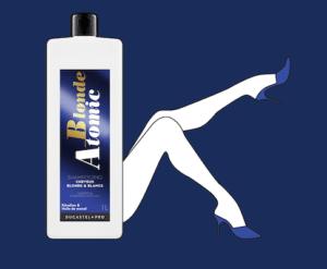 shampooing blond atomic